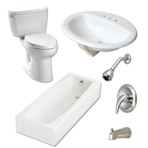 bathroom hardware; toilet; sink; bathtub; bathtub & shower faucet; silver bathtub & shower faucet; hd supply home improvement solutions